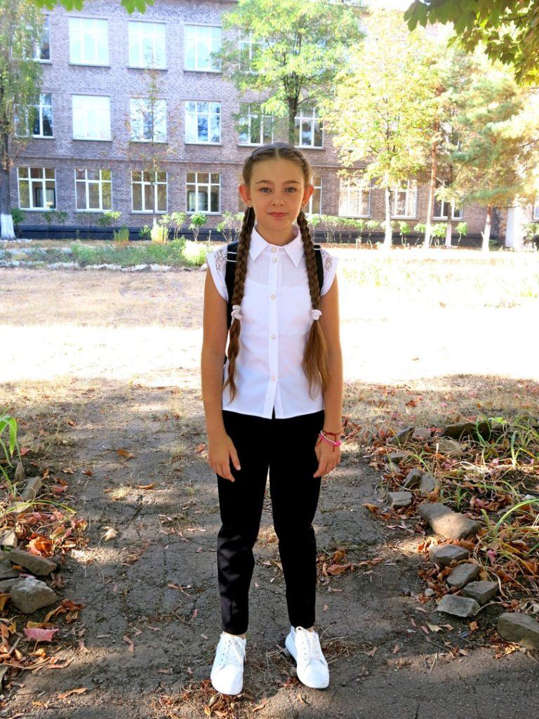 Maša Kovalenko, 11, tanečnice, Alčevsk, LLR