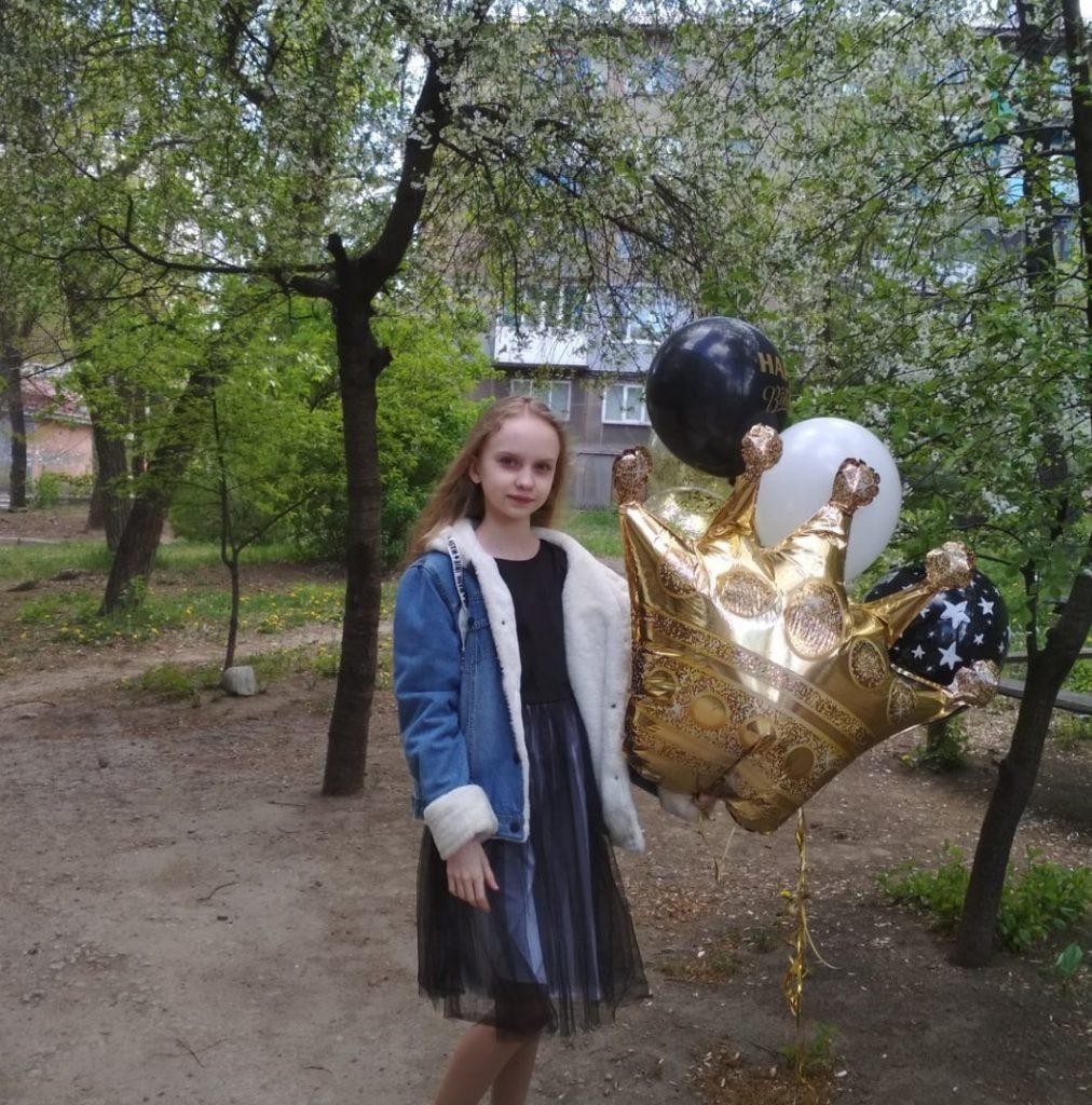 Kaťa Bugaj, 15, kreslířka, Alčevsk, LLR