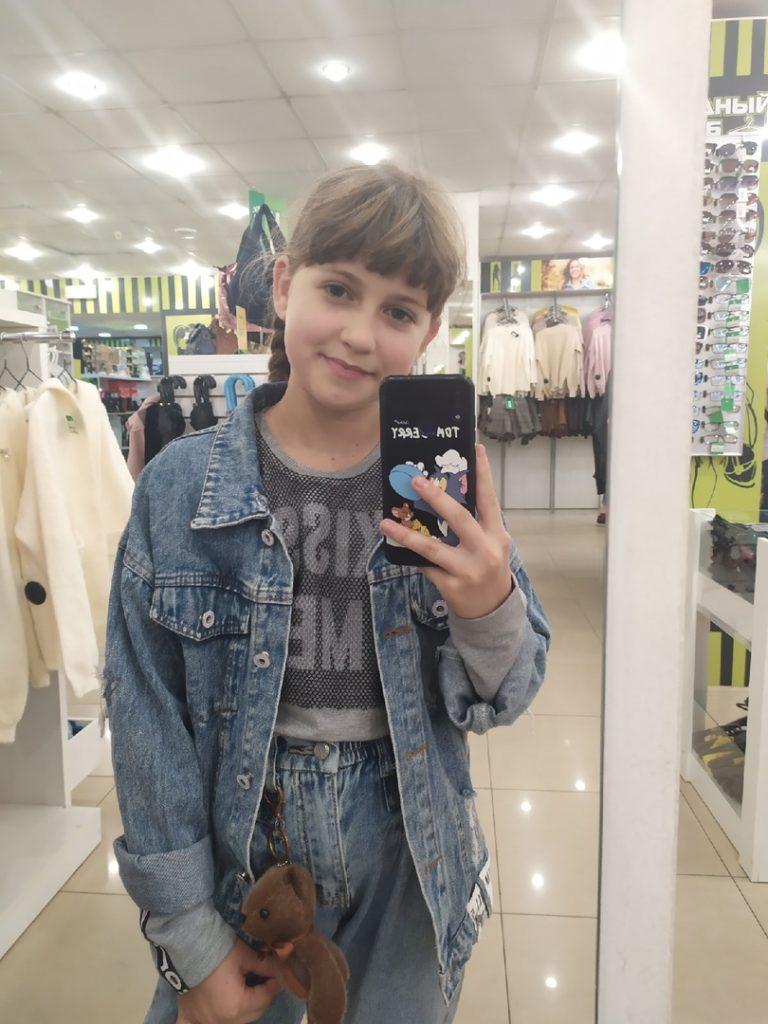 Milana Kolčanova, 10, taekwondo, Lugansk, LLR