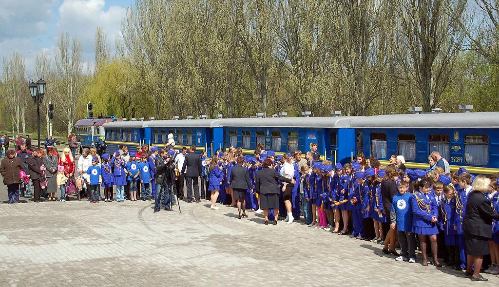 Dětská železnice, 2017, Doněck, DLR