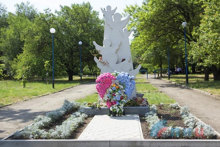 Památník zabitým dětem, Lugansk, LLR